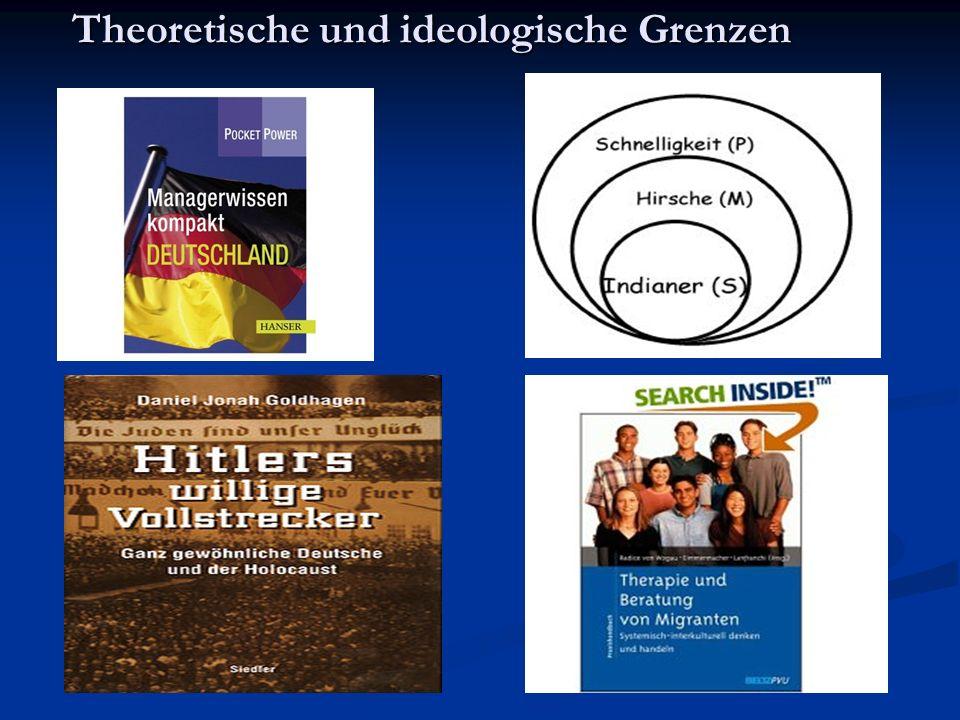 Theoretische und ideologische Grenzen