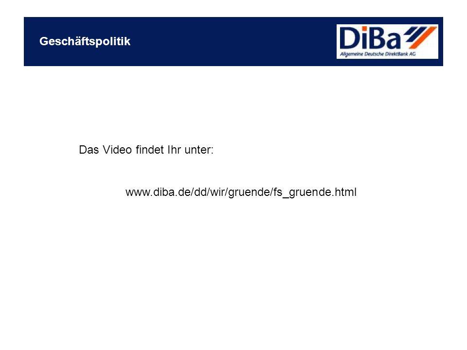 Das Video findet Ihr unter: www.diba.de/dd/wir/gruende/fs_gruende.html