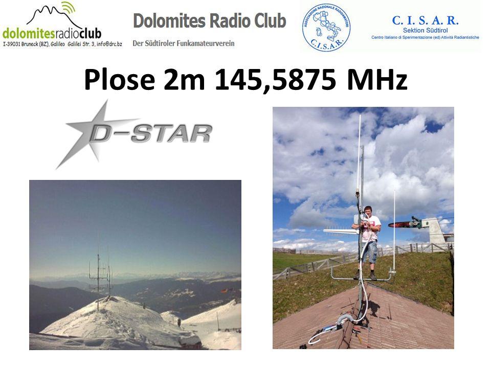Plose 2m 145,5875 MHz
