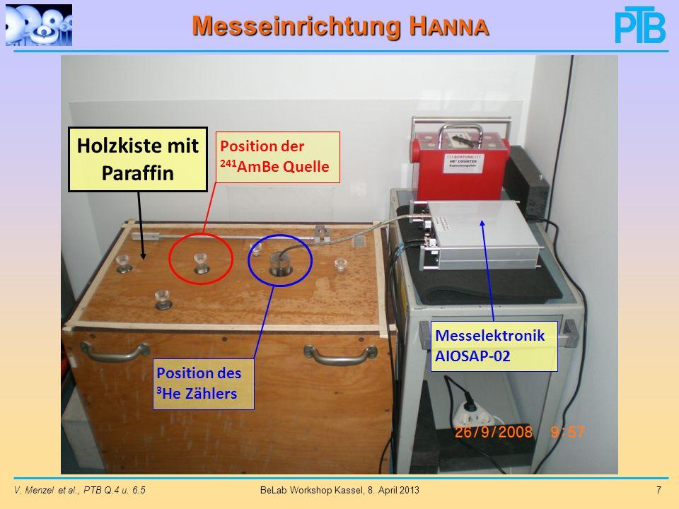 Messeinrichtung H ANNA V.Menzel et al., PTB Q.4 u.