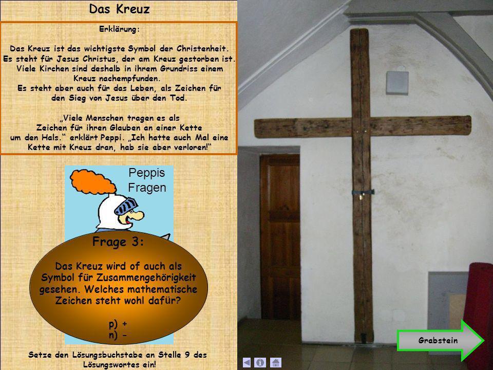 Das Kreuz Erklärung: Das Kreuz ist das wichtigste Symbol der Christenheit. Es steht für Jesus Christus, der am Kreuz gestorben ist. Viele Kirchen sind