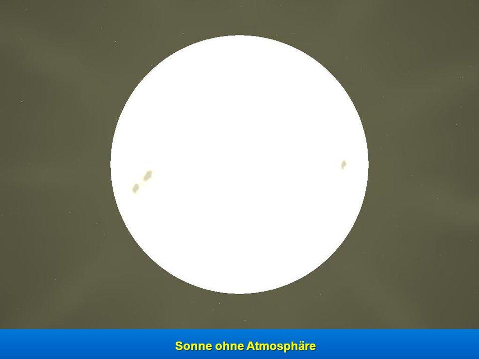 Sonne mit Atmosphäre