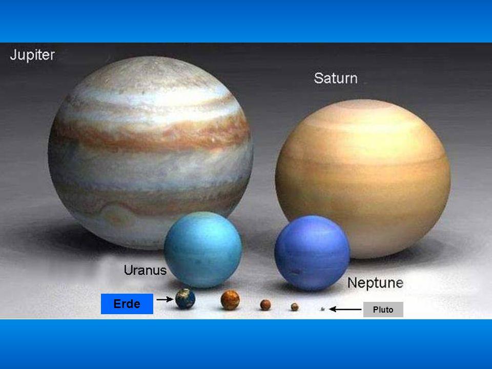 Erde Venus MarsMercuryPluto