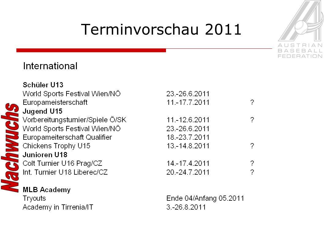 Terminvorschau 2011