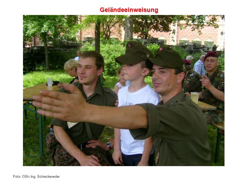 Foto: OStv Ing. Schreckeneder Geländeeinweisung