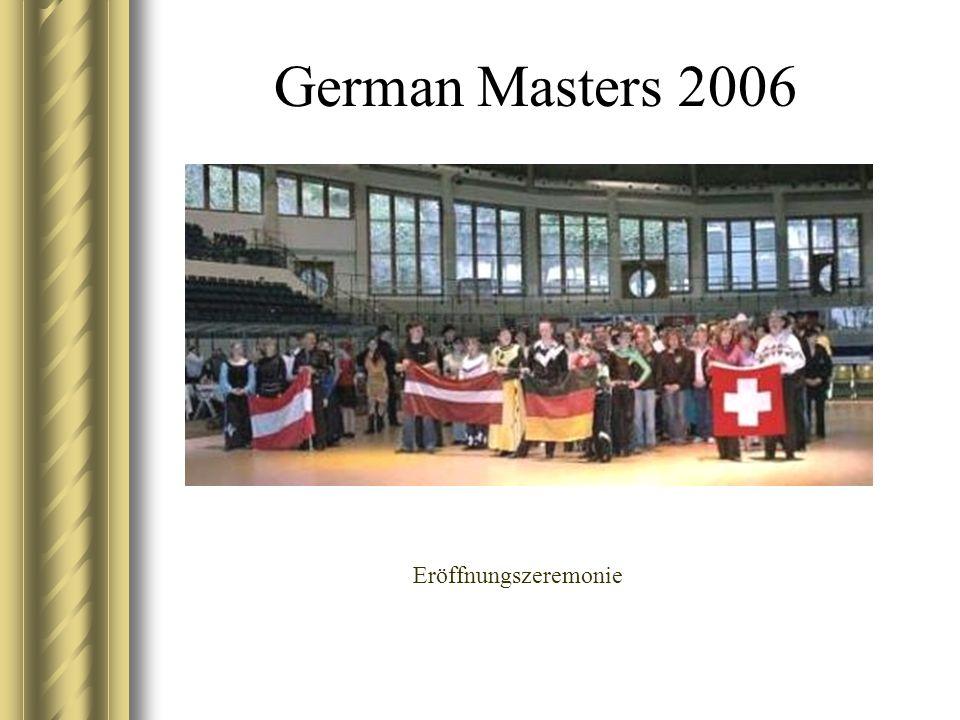 German Masters 2006 Eröffnungszeremonie