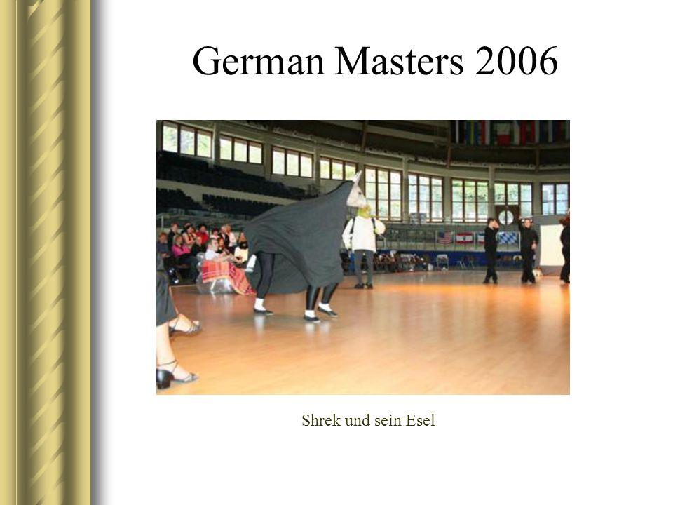 German Masters 2006 Shrek und sein Esel