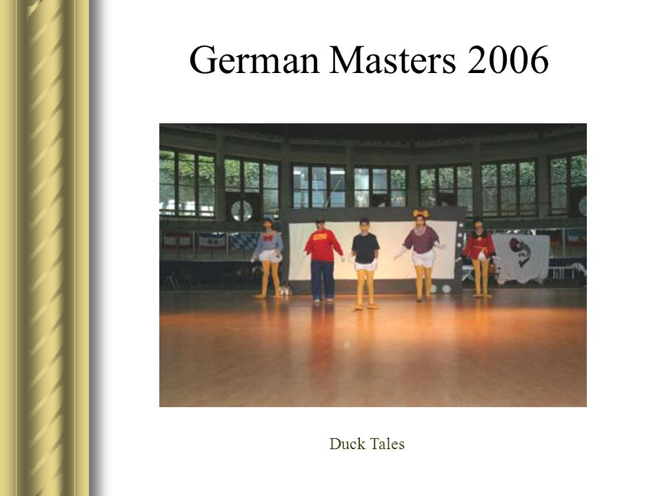 German Masters 2006 Duck Tales
