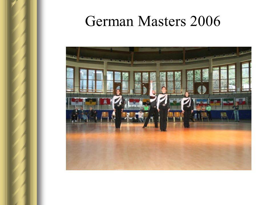German Masters 2006 Jasmin voll gestylt