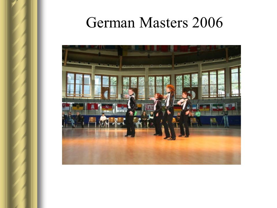 German Masters 2006 Christian tanzen – nicht Karate
