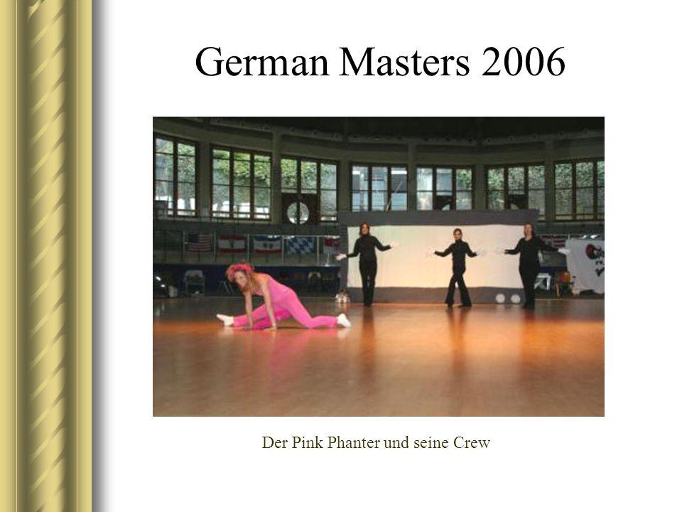 German Masters 2006 Der Pink Phanter und seine Crew