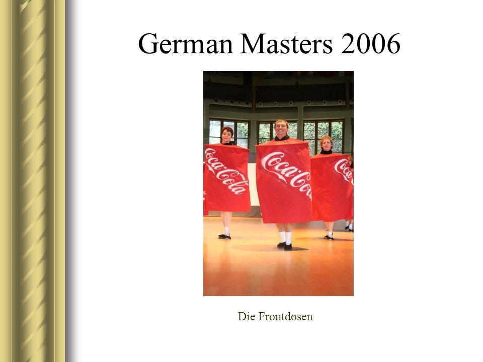 German Masters 2006 Die Frontdosen