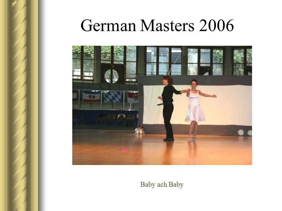 German Masters 2006 Baby ach Baby