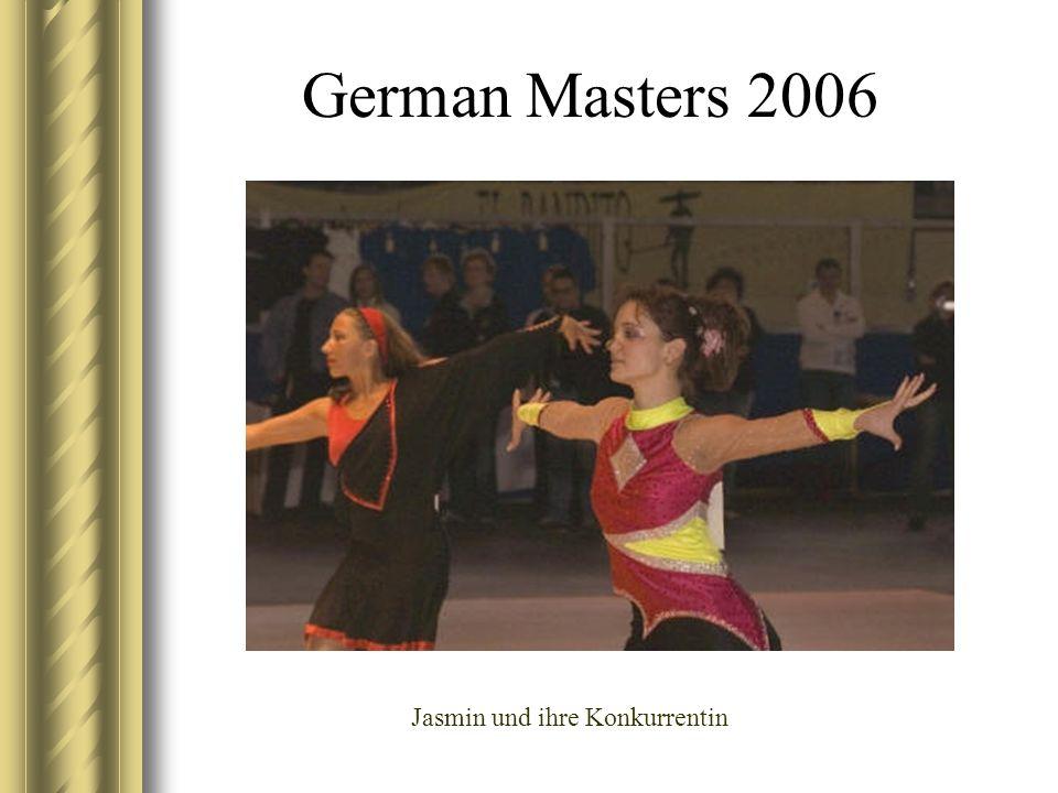 Jasmin und ihre Konkurrentin
