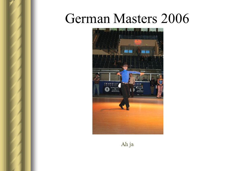 German Masters 2006 Ah ja