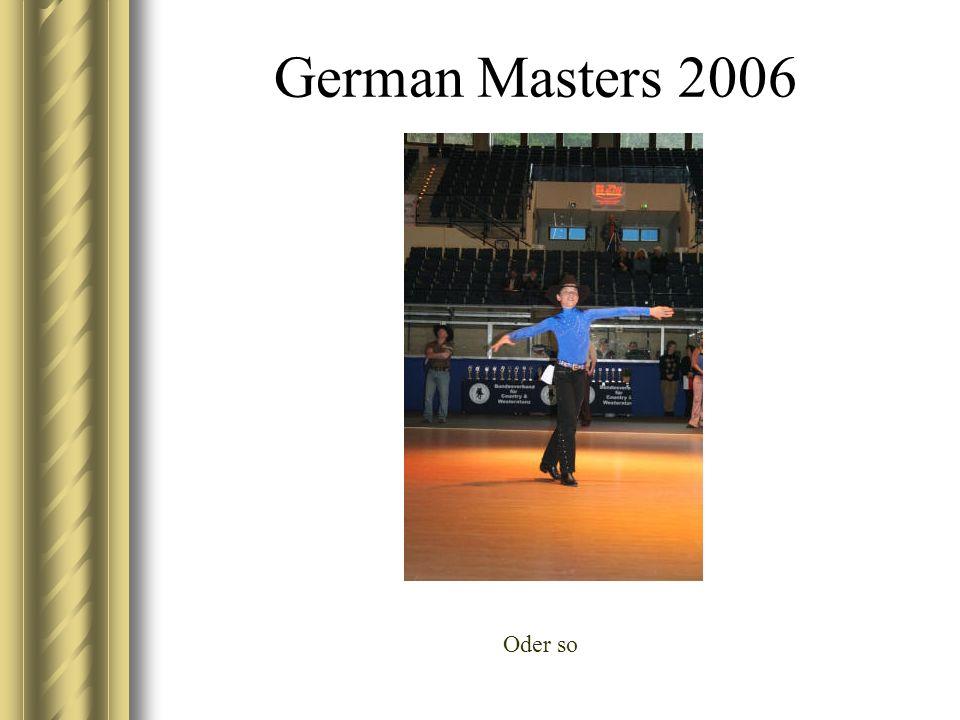 German Masters 2006 Oder so