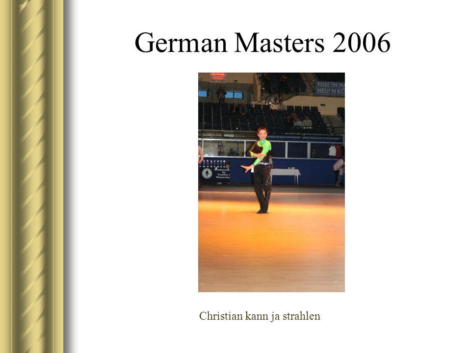 German Masters 2006 Christian kann ja strahlen