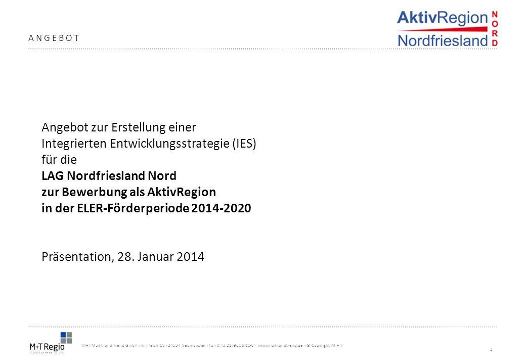1 M+T Markt und Trend GmbH · Am Teich 18 · 24534 Neumünster · Fon 0 43 21/96 56 11-0 · www.marktundtrend.de · © Copyright M + T ANGEBOT Angebot zur Er