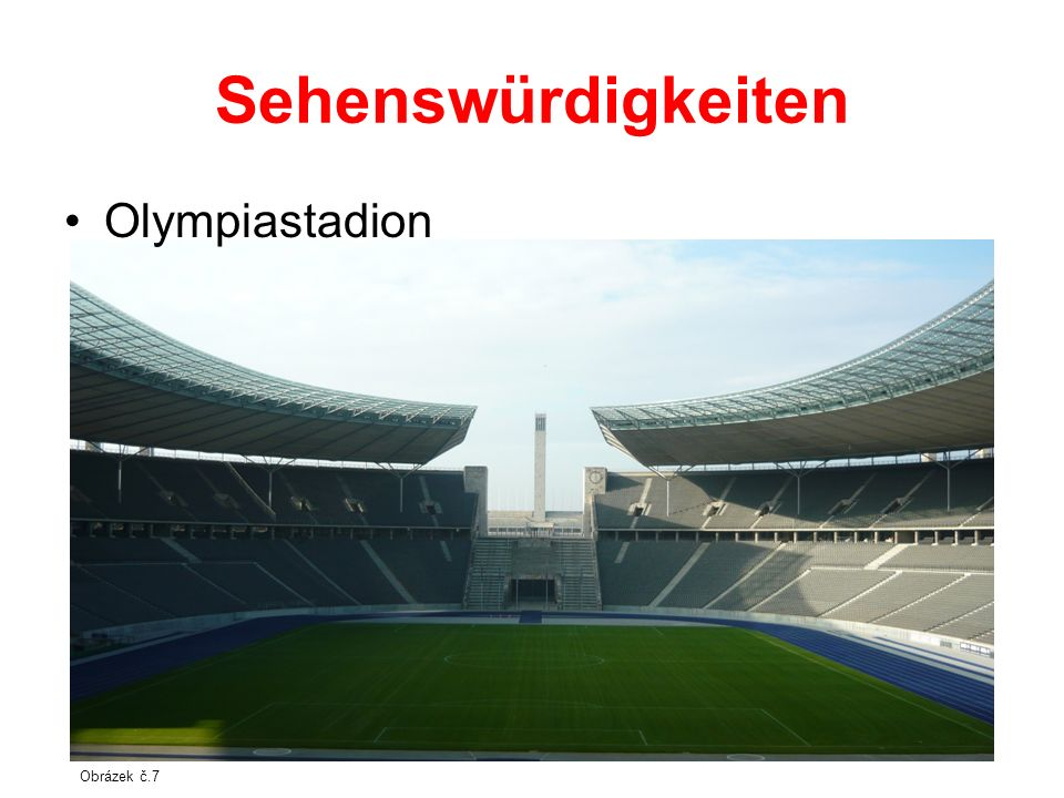 Sehenswürdigkeiten Olympiastadion Obrázek č.7