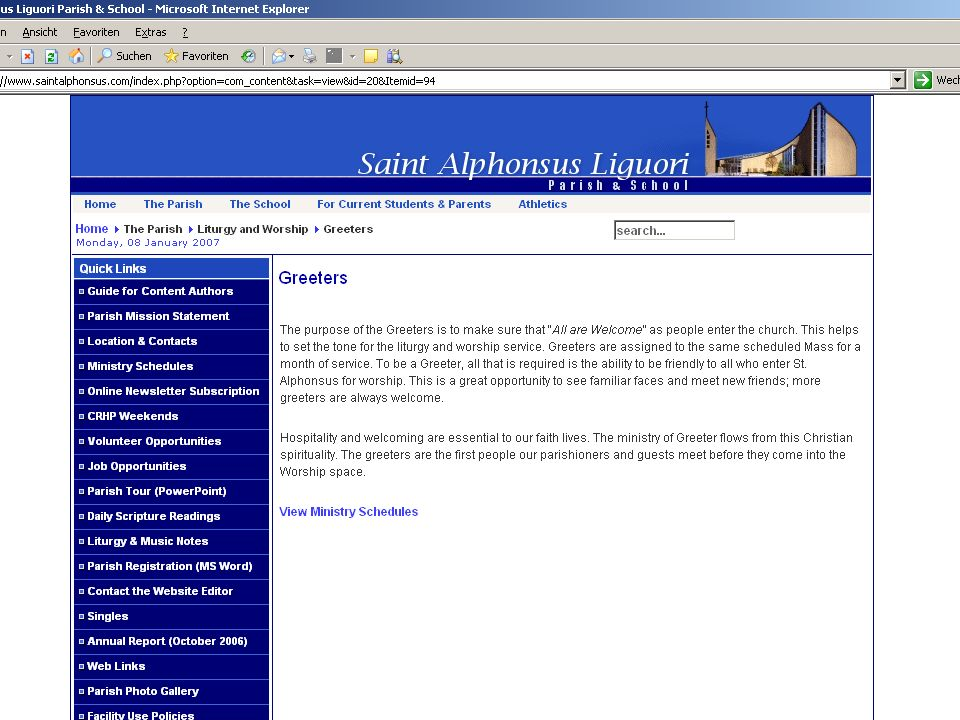 Andreas Fritsch 3. Diözesantag Öffentlichkeitsarbeit 09.02.2008 Seite 5