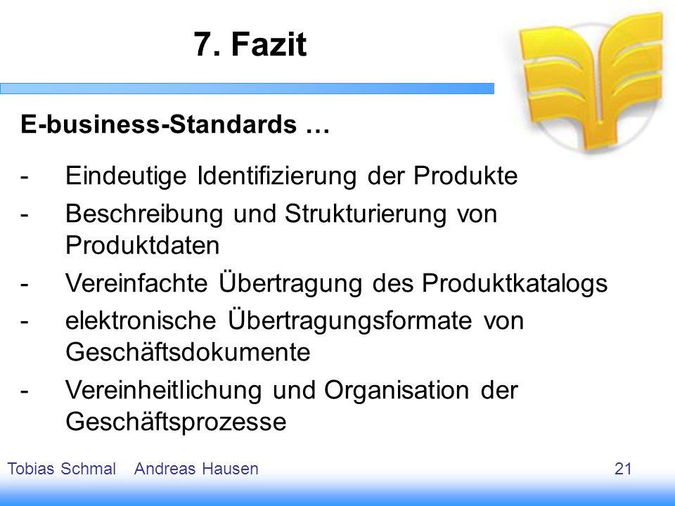 22 E-business-Standards … -Eindeutige Identifizierung der Produkte -Beschreibung und Strukturierung von Produktdaten -Vereinfachte Übertragung des Pro