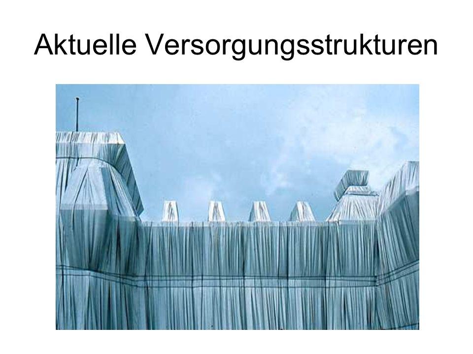 Aktuelle Versorgungsstrukturen