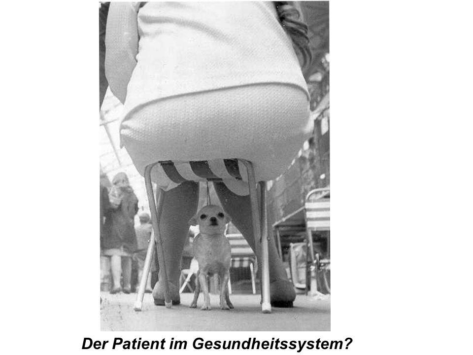 Der Patient im Gesundheitssystem?