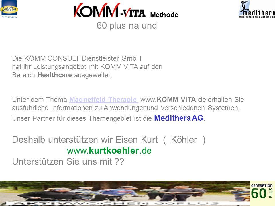 Methode Unsere Partner sind Angefragt 60 plus na und Hamburg berichtet