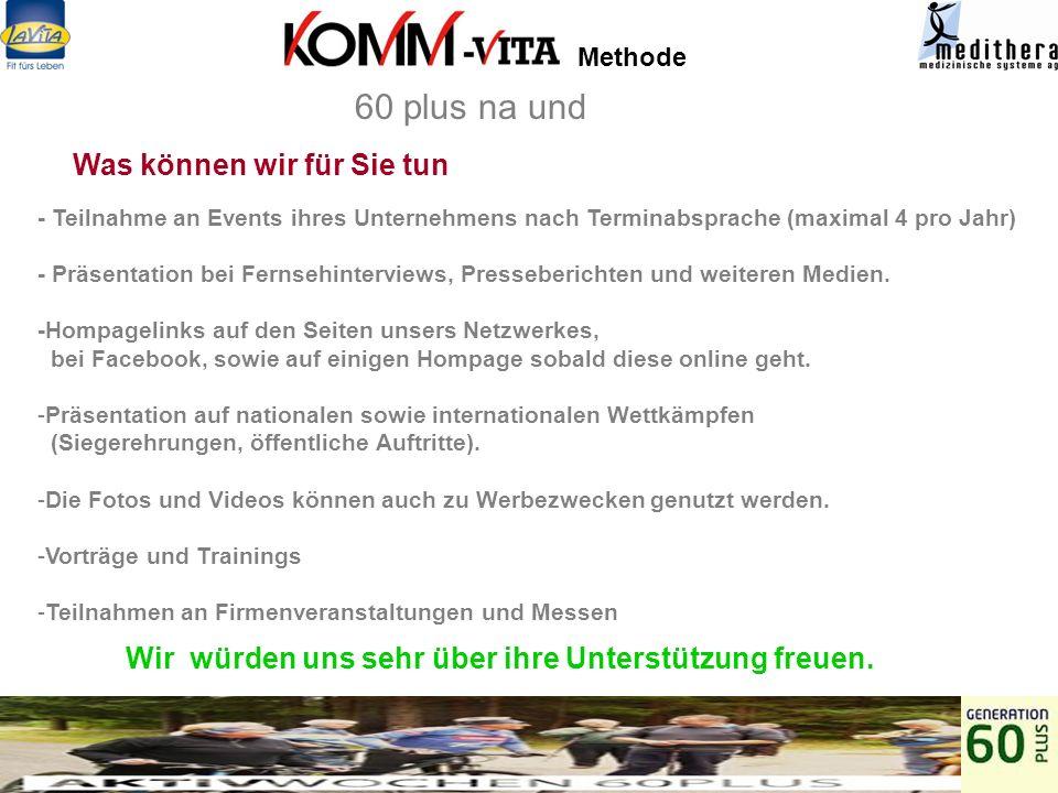 Methode Ansprechpartner: Andreas Böhmeke KOMM CONSULT Dienstleister GmbH Langenfelderstrasse 93, 22769 Hamburg andreas.boehmeke@komm-consult.com Tel.: (49) 40-86 61 85Handy 0170-4496115 60 plus na und