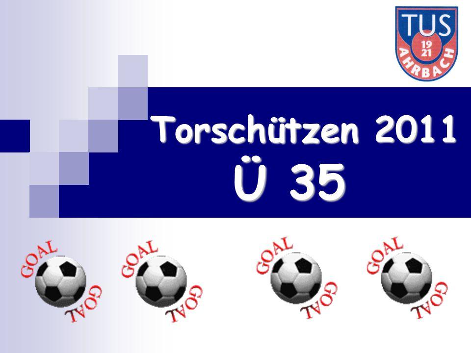 Torschützen 2011 Ü 35