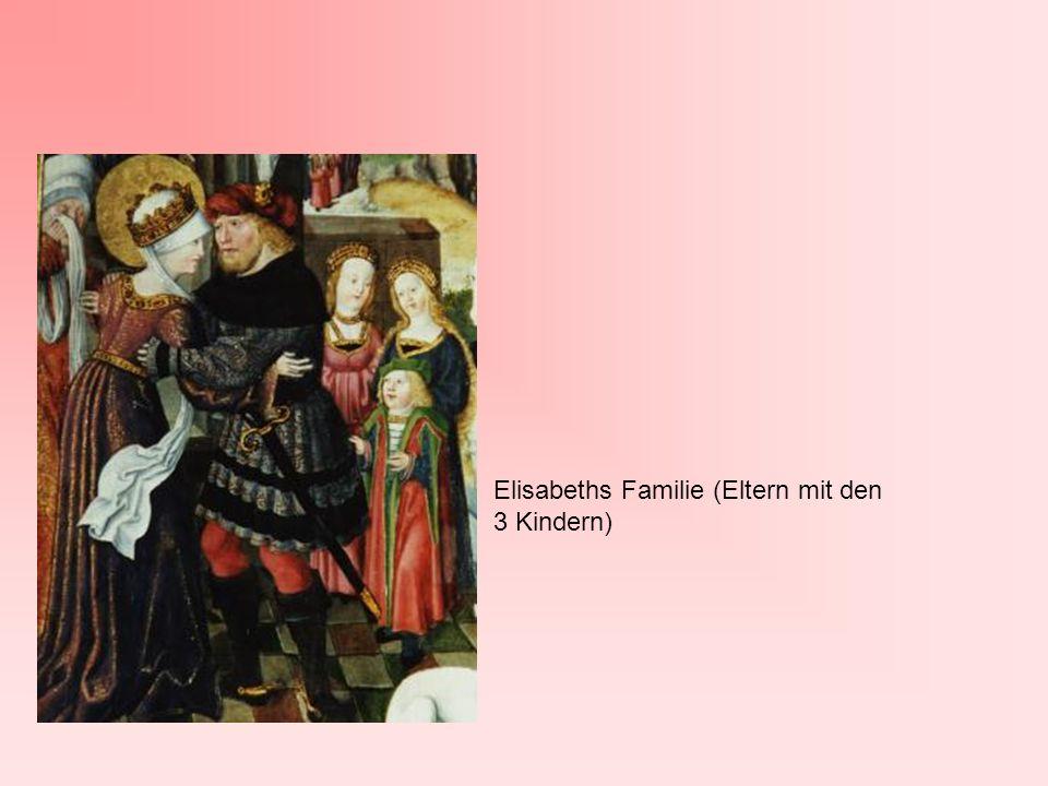 Elisabeths Familie (Eltern mit den 3 Kindern)