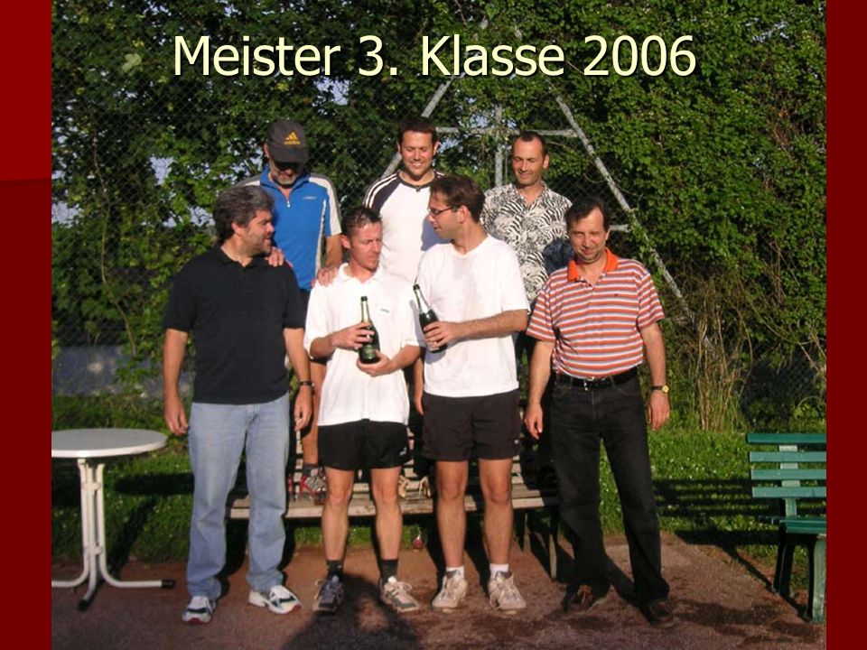 Meister 3. Klasse 2006
