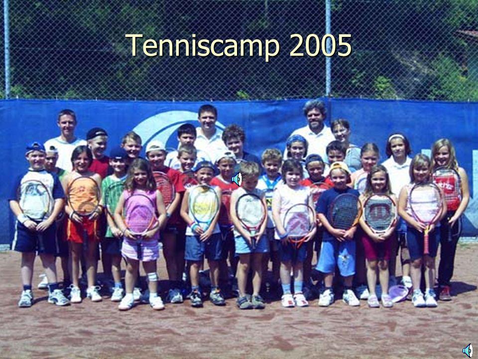 Tenniscamp 2005