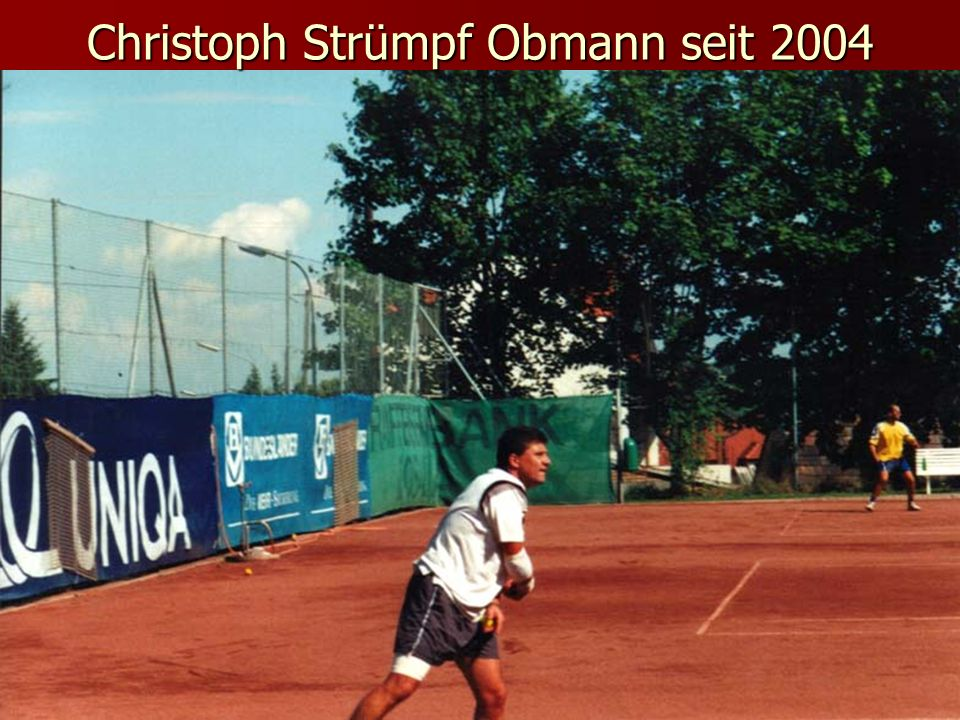 Christoph Strümpf Obmann seit 2004