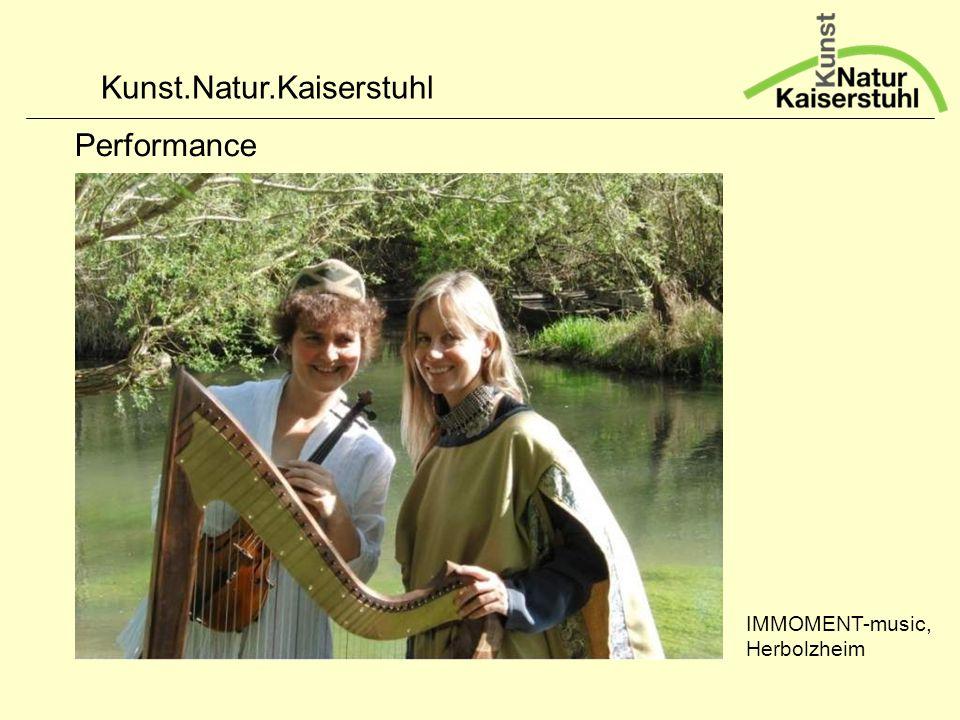 Kunst.Natur.Kaiserstuhl Performance IMMOMENT-music, Herbolzheim