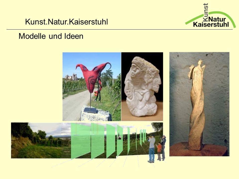 Kunst.Natur.Kaiserstuhl Modelle und Ideen