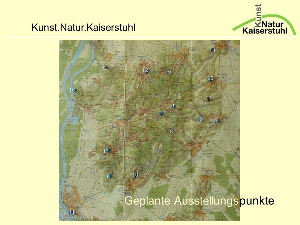 Kunst.Natur.Kaiserstuhl punkteGeplante Ausstellungs