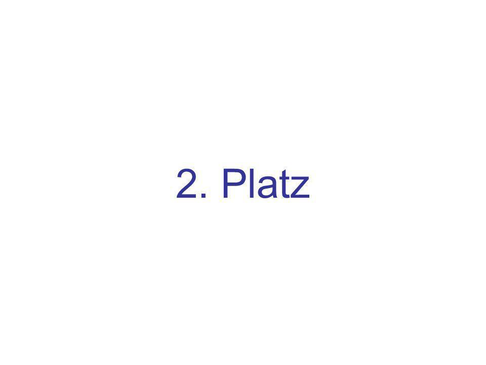 2. Platz