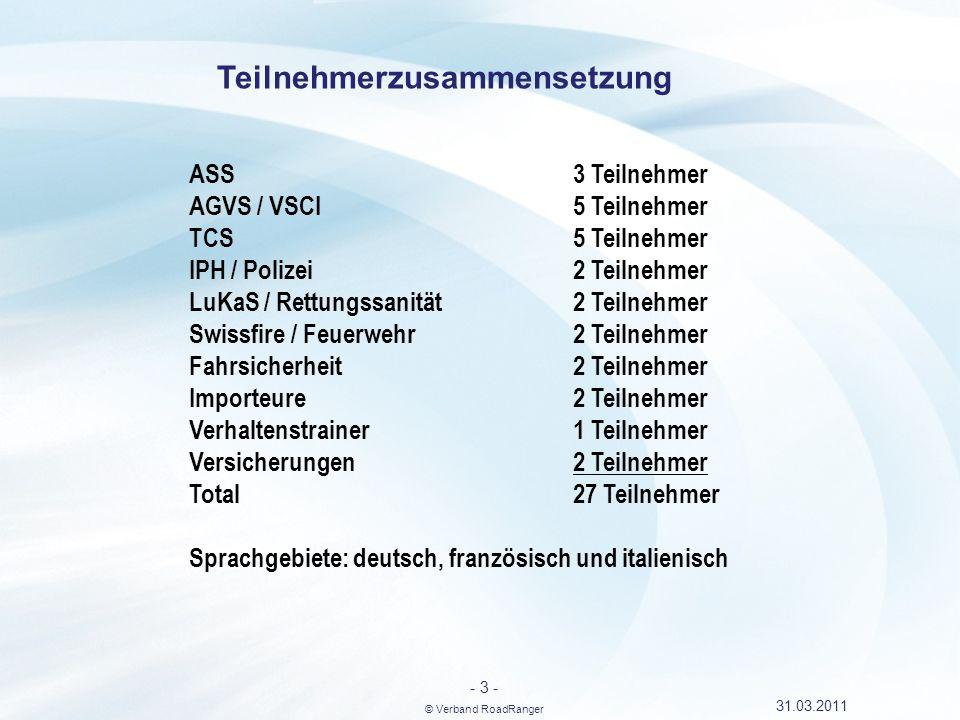 - 4 - © Verband RoadRanger 31.03.2011 Bundesamt für Berufsbildung und Technologie BBT Bundesamt für Strassen ASTRA Kontakte
