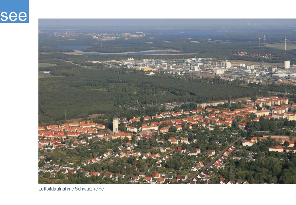 see Luftbildaufnahme Schwarzheide