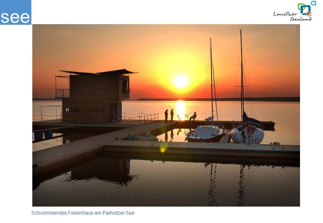 see Schwimmendes Ferienhaus am Partwitzer See