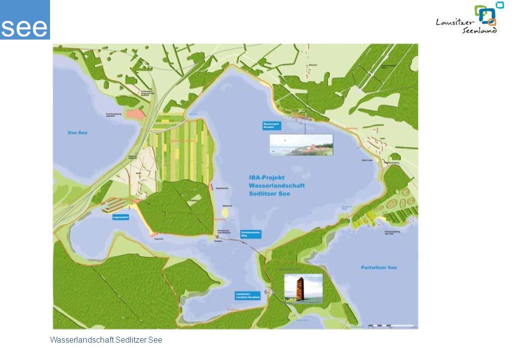 see Wasserlandschaft Sedlitzer See