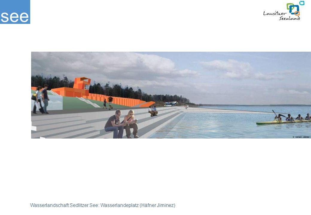 see Wasserlandschaft Sedlitzer See: Wasserlandeplatz (Häfner Jiminez)