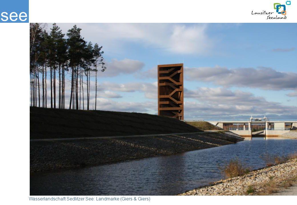 see Wasserlandschaft Sedlitzer See: Landmarke (Giers & Giers)
