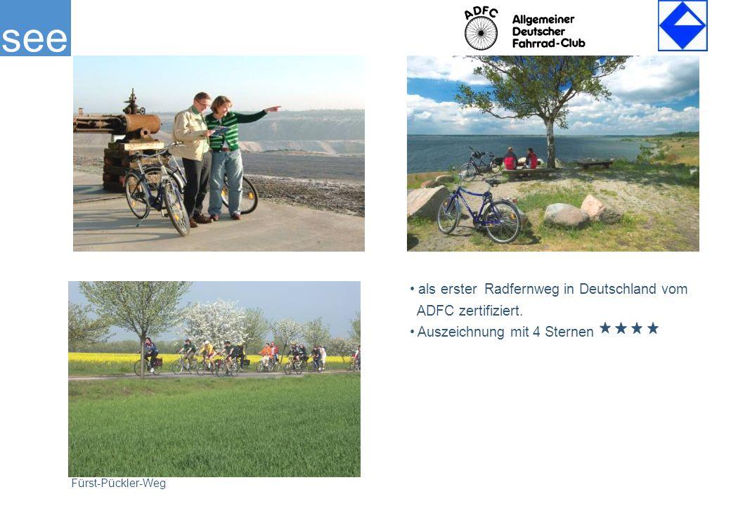 see Fürst-Pückler-Weg als erster Radfernweg in Deutschland vom ADFC zertifiziert.