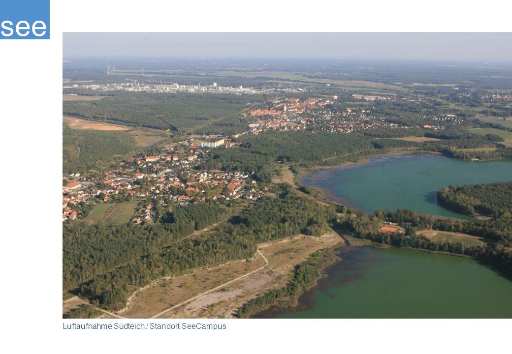 see Luftaufnahme Südteich / Standort SeeCampus