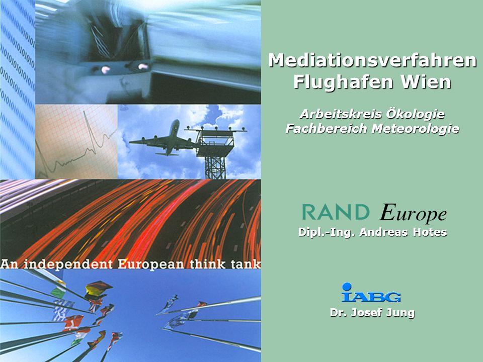 Mediationsverfahren Flughafen Wien Arbeitskreis Ökologie Fachbereich Meteorologie Dipl.-Ing.
