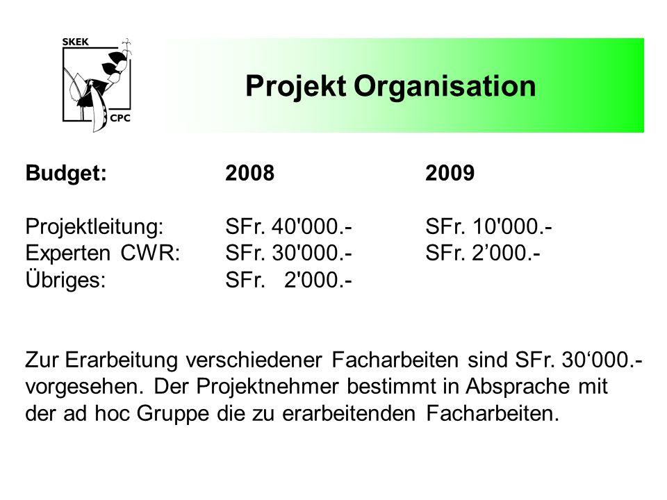 Projekt Organisation Fallstudie 1:Brassica rapa subsp.