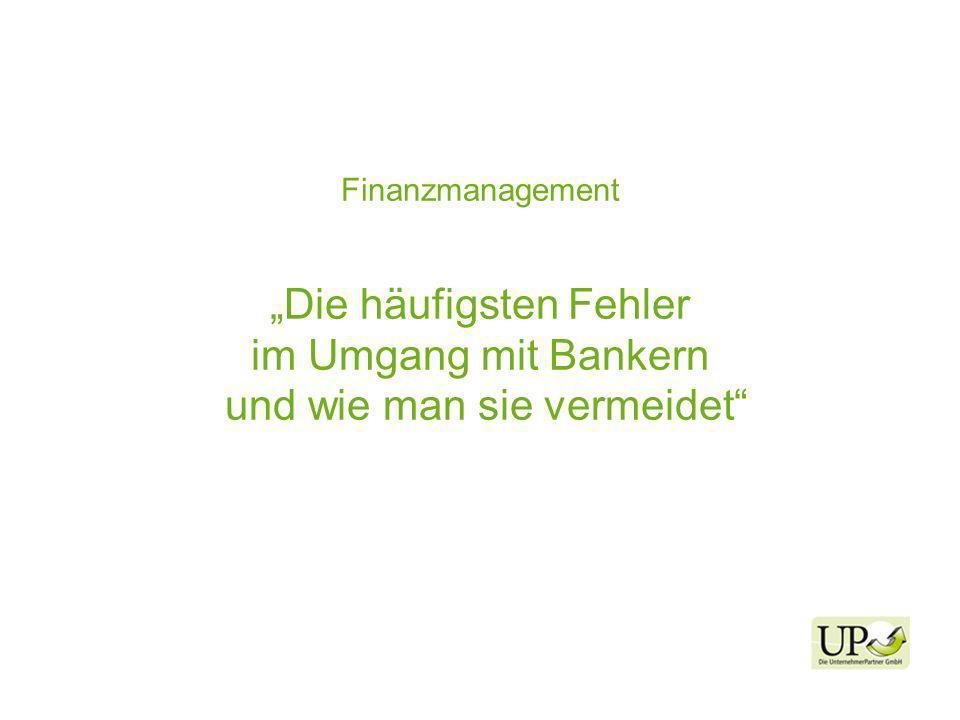 Finanzmanagement Die häufigsten Fehler im Umgang mit Bankern und wie man sie vermeidet