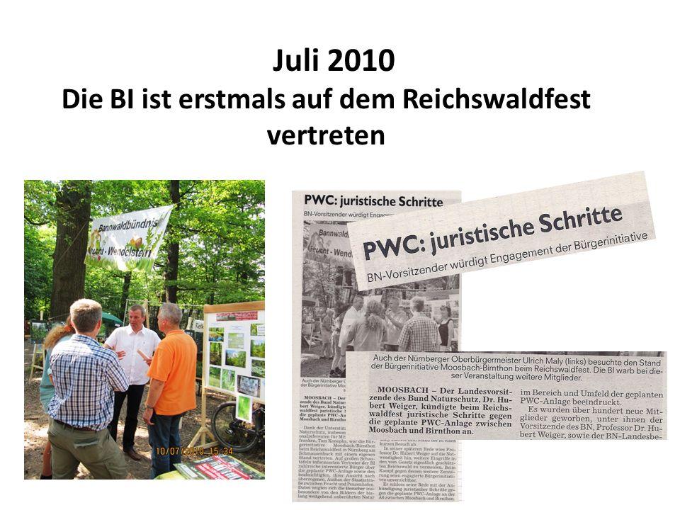 August 2010 Treffen mit politischen Vertretern in der Schützenklause u.a.